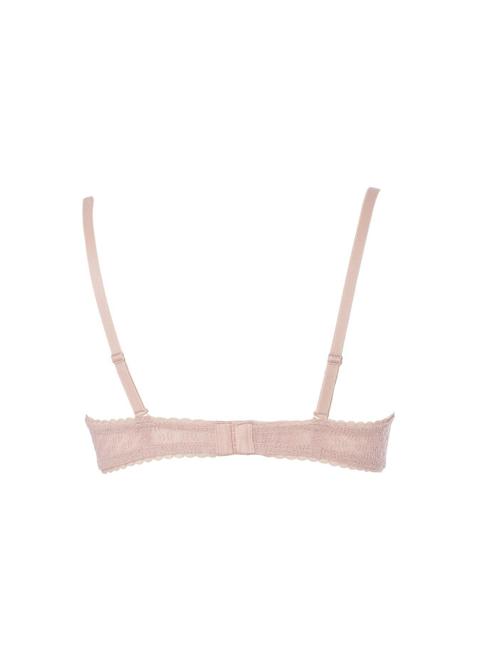 Balconette bra with bow