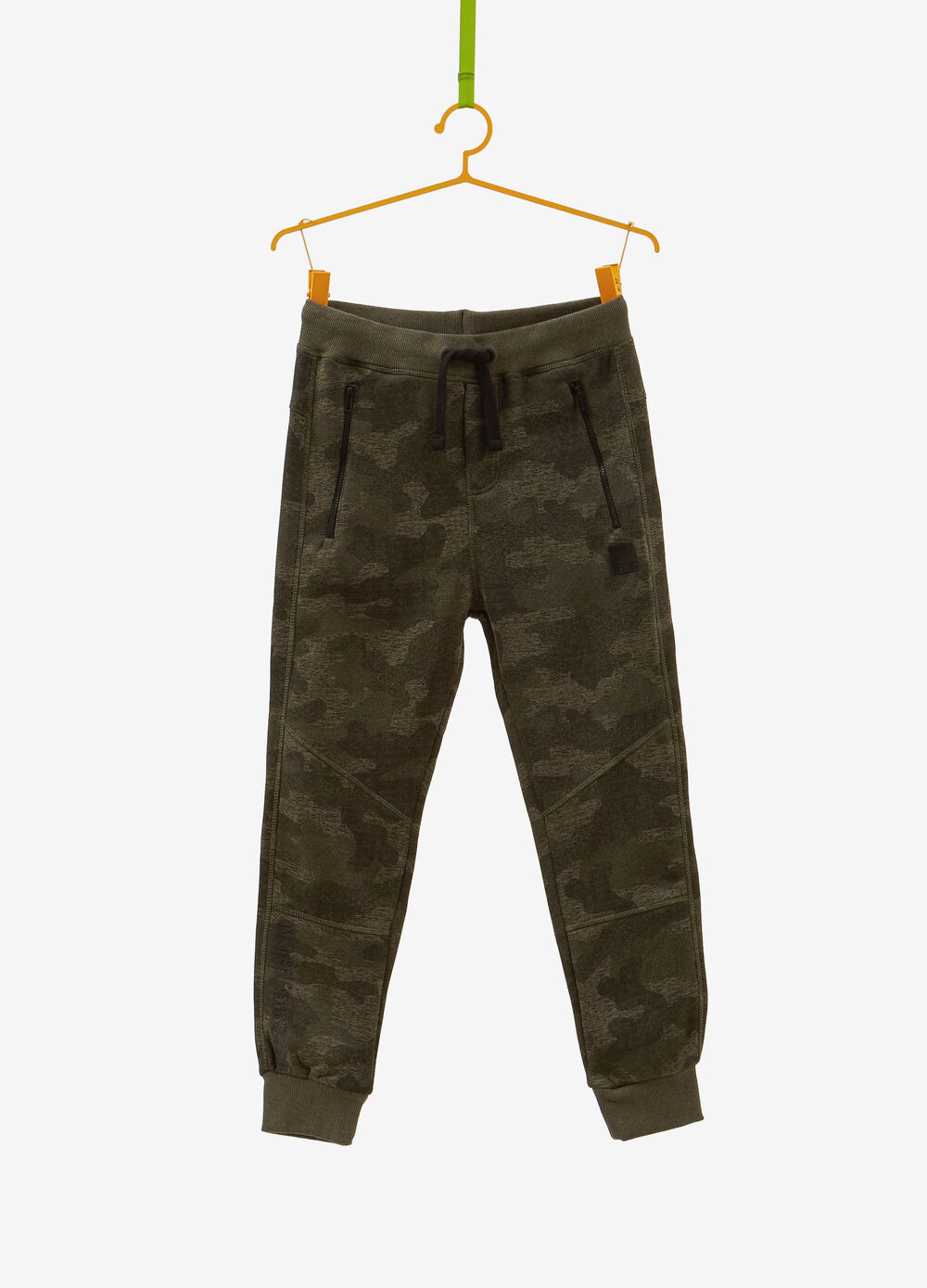 100% cotton trousers with pockets and zip
