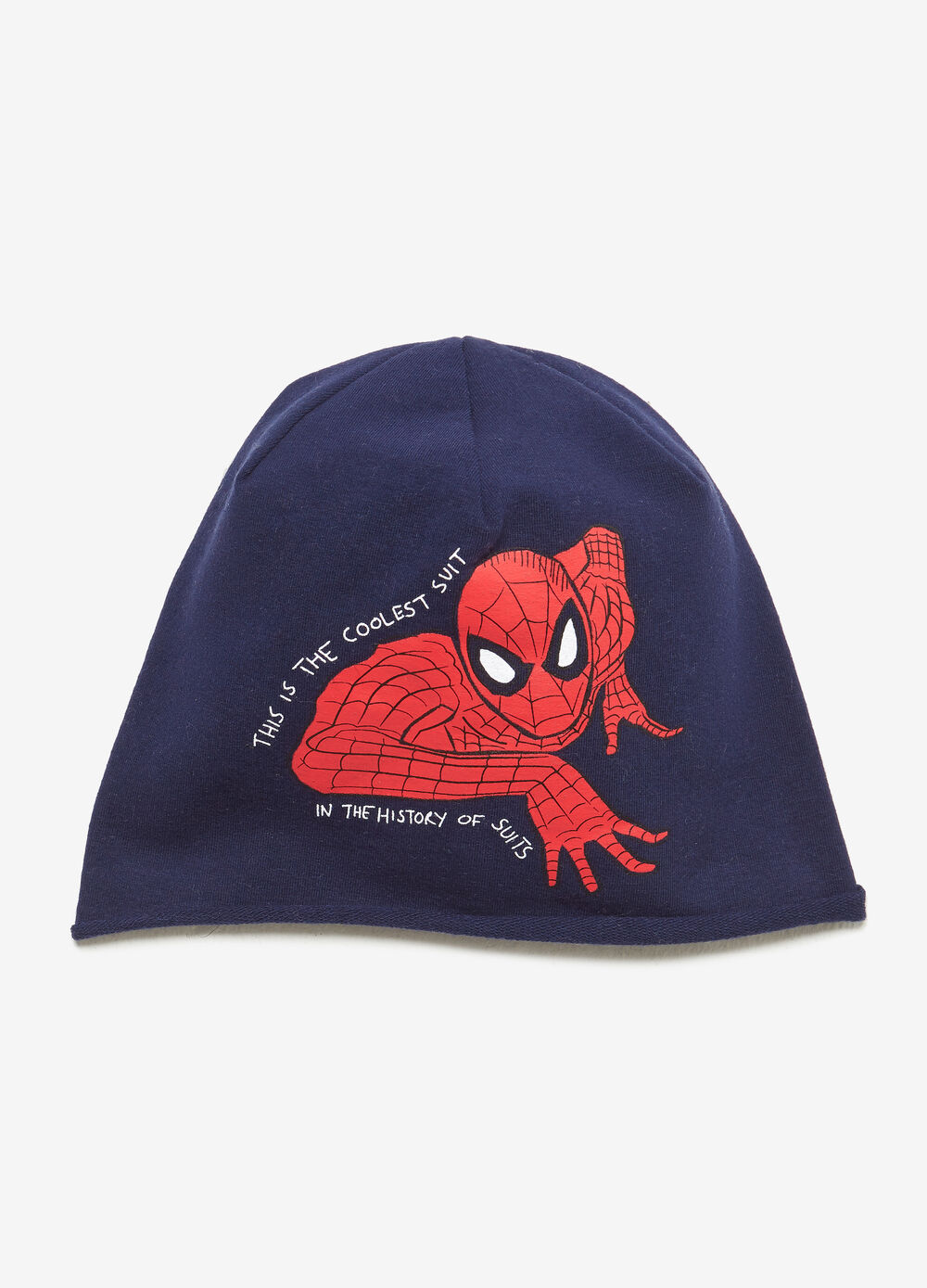 Cappello a cuffia in jersey Spiderman