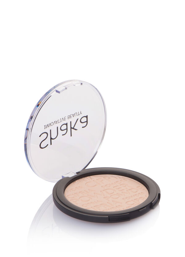 Compact powder with silky finish