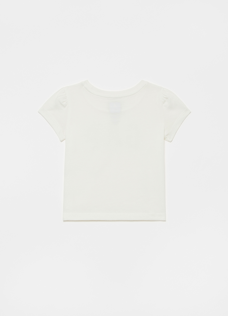 GAP T-shirt con logo in strass image number null