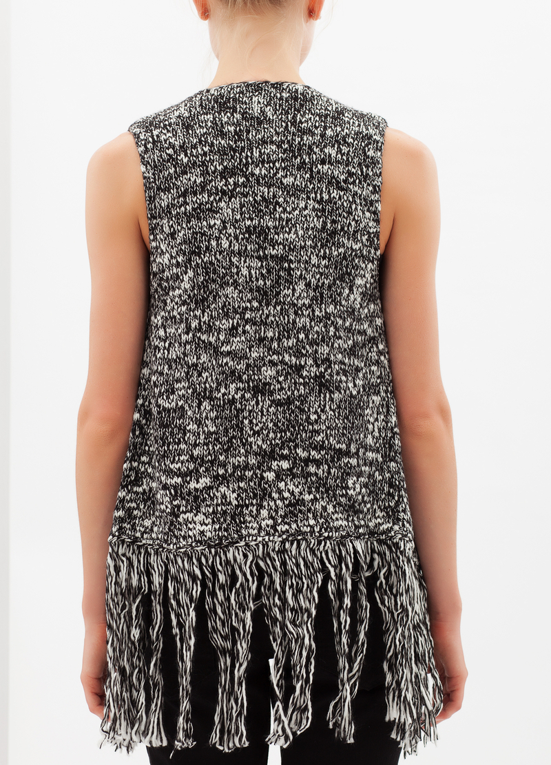 Gilet with fringe image number null