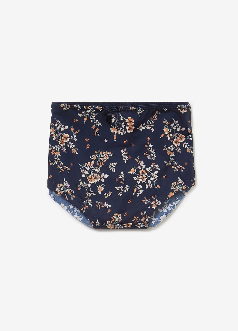 Briefs with all-over floral print