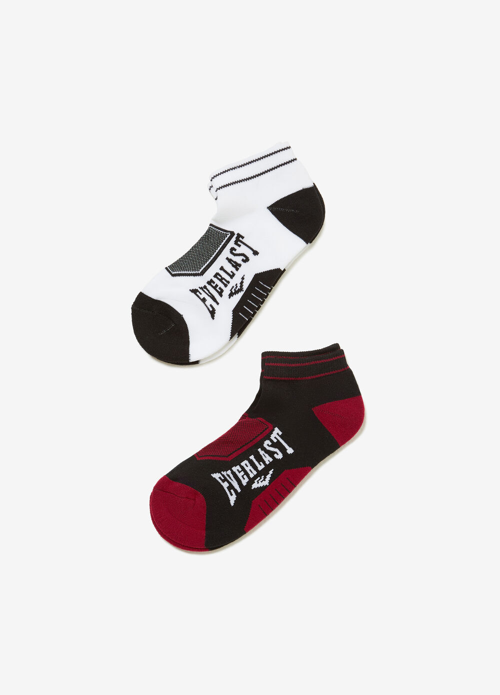 Two-pair pack Everlast stretch sports socks