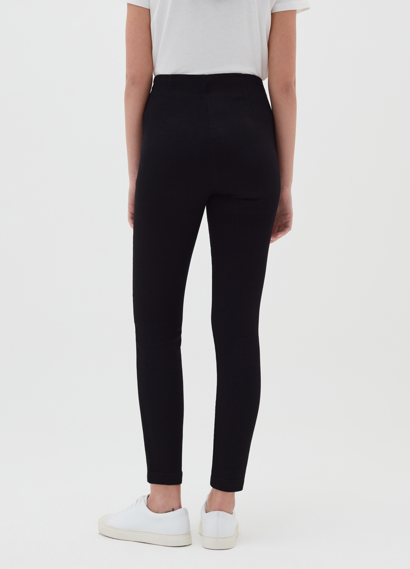Jeggings with side zip image number null