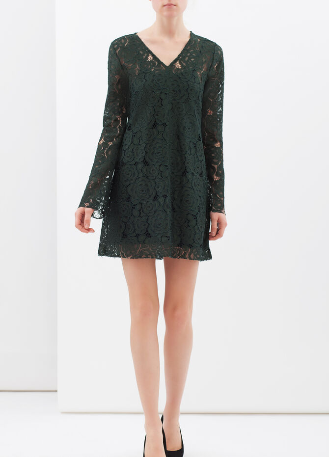 Tunic dress in lace