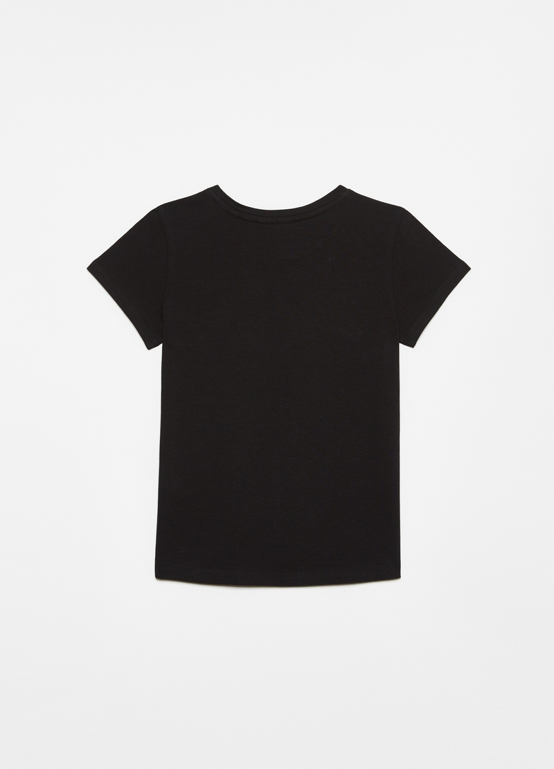 Stretch cotton T-shirt image number null