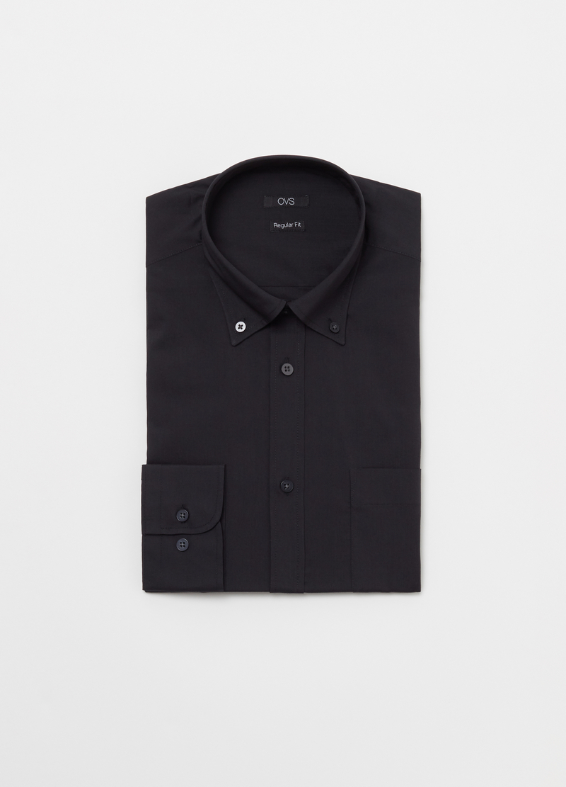 Camicia regular fit button down image number null