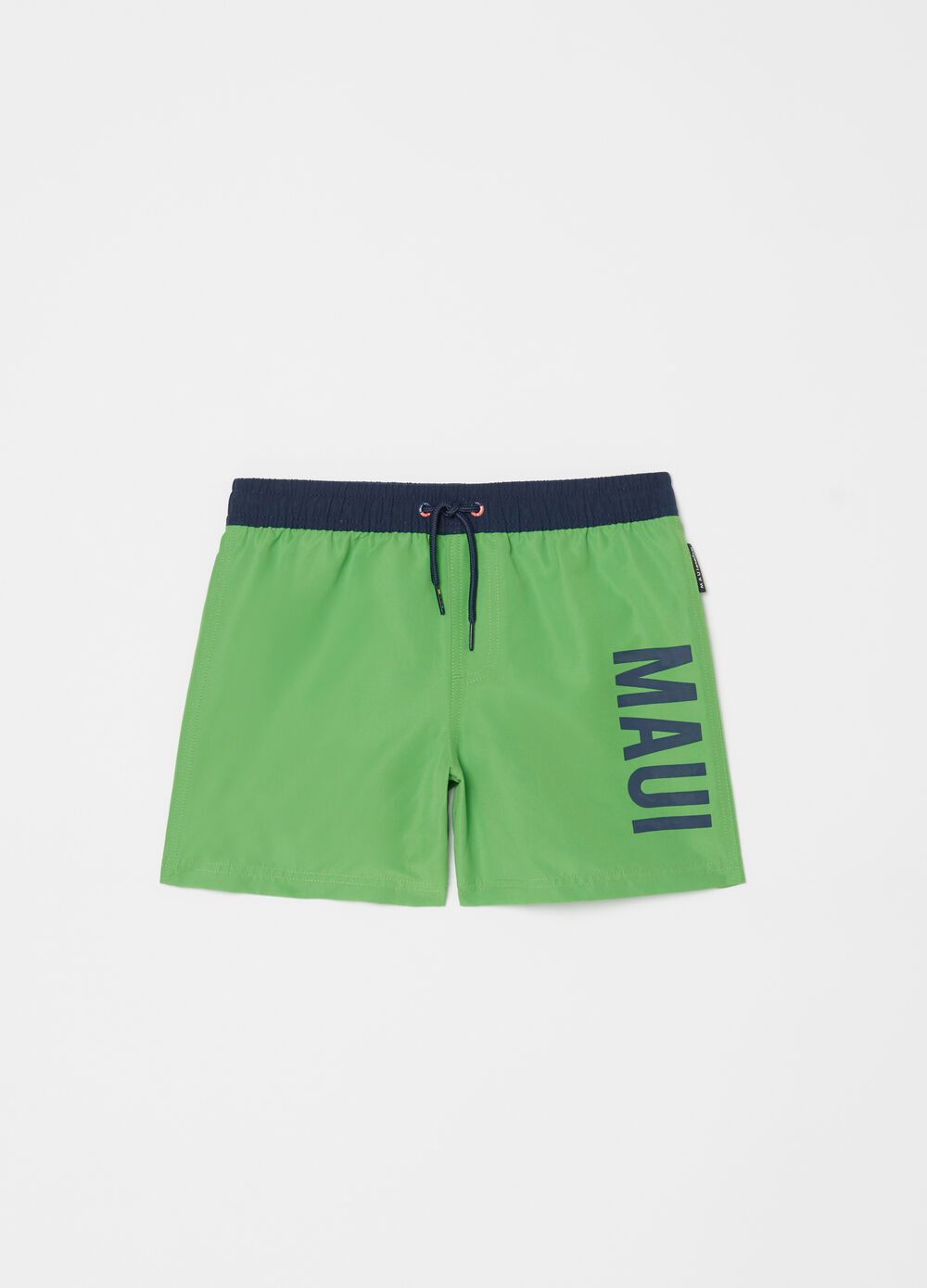 Printed swim boxer shorts by Maui and Sons
