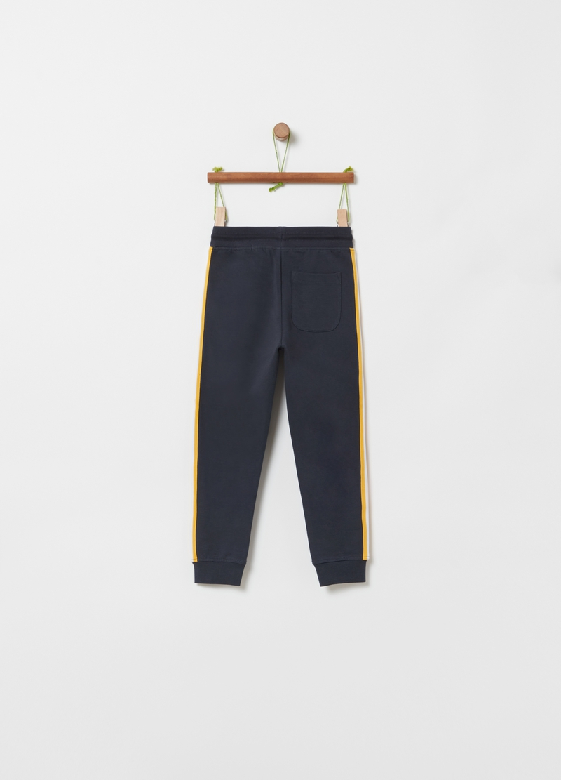 Stretch organic cotton joggers image number null