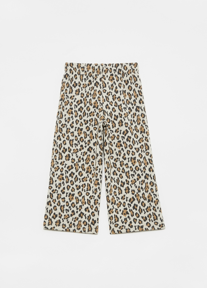 Treggings wide fit animalier image number null
