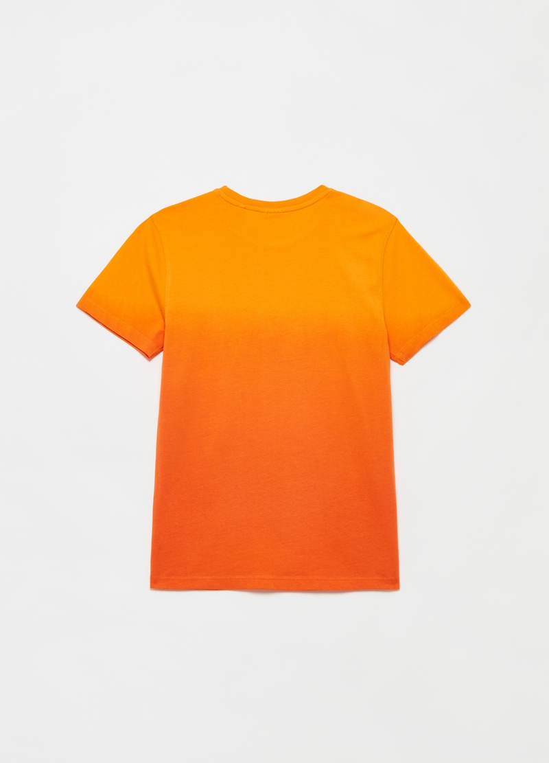 Degradé T-shirt with surf print image number null