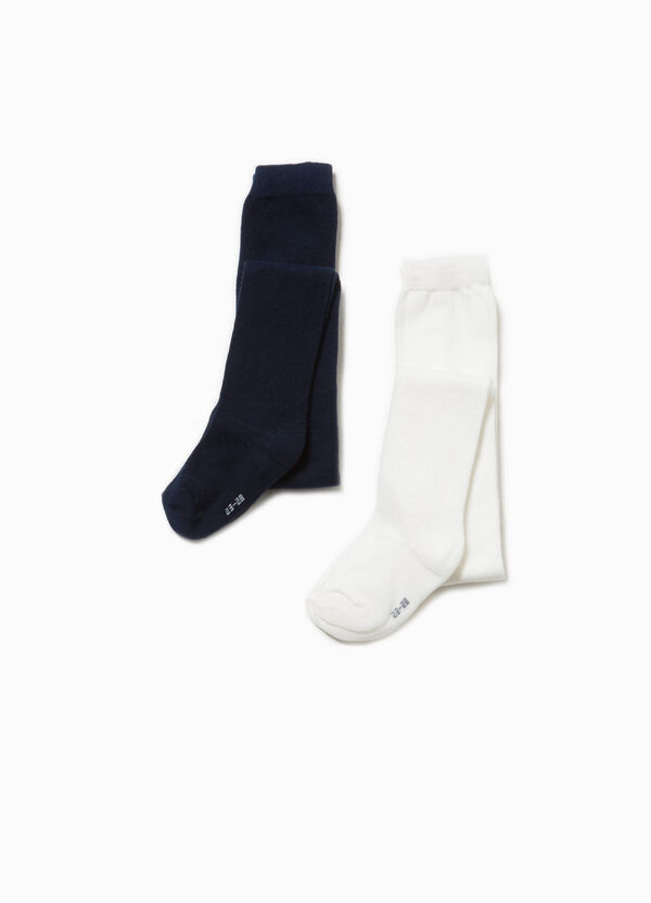 Two-pair pack cotton blend socks   OVS