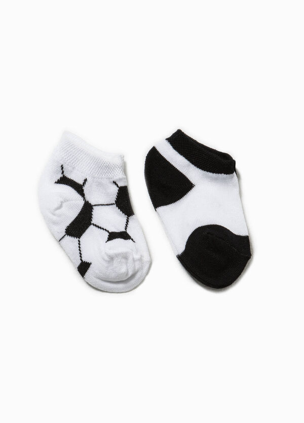 Two-pack ball patterned socks | OVS