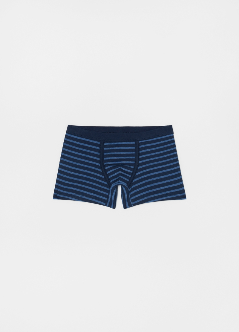 Stretch boxers with stripes image number null