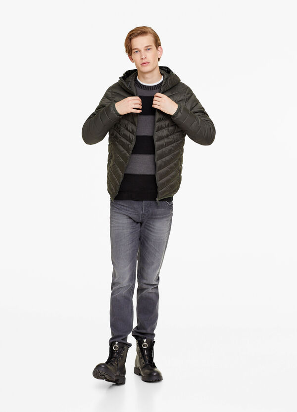 Ultra-light down jacket with hood