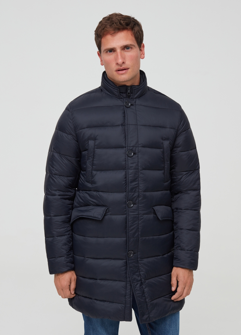 PIOMBO padded jacket with high collar image number null