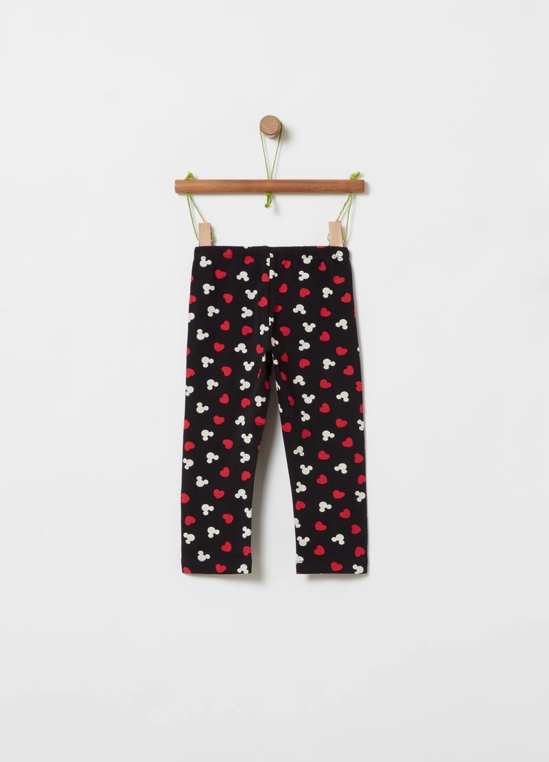 Disney Minnie Mouse three-quarter leggings image number null