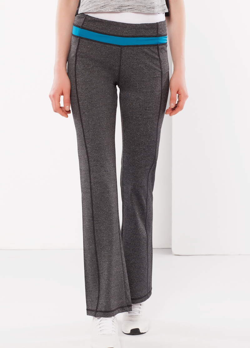Stretch gym pants image number null