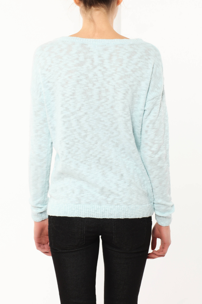 Jumper with embroideries image number null