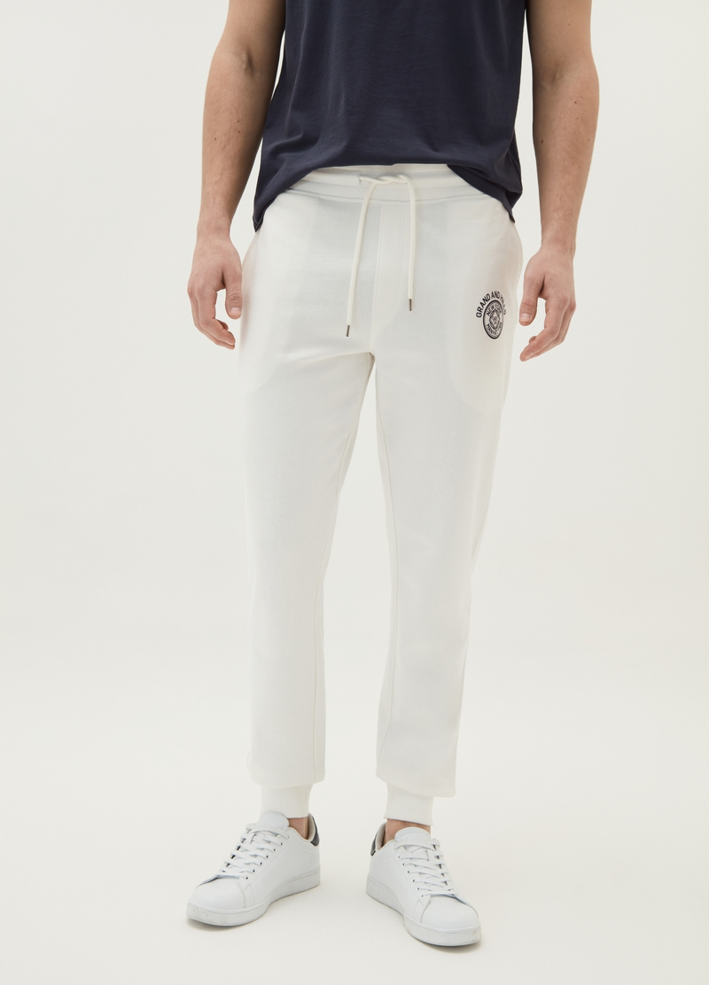 Joggers puro cotone bio con coulisse image number null