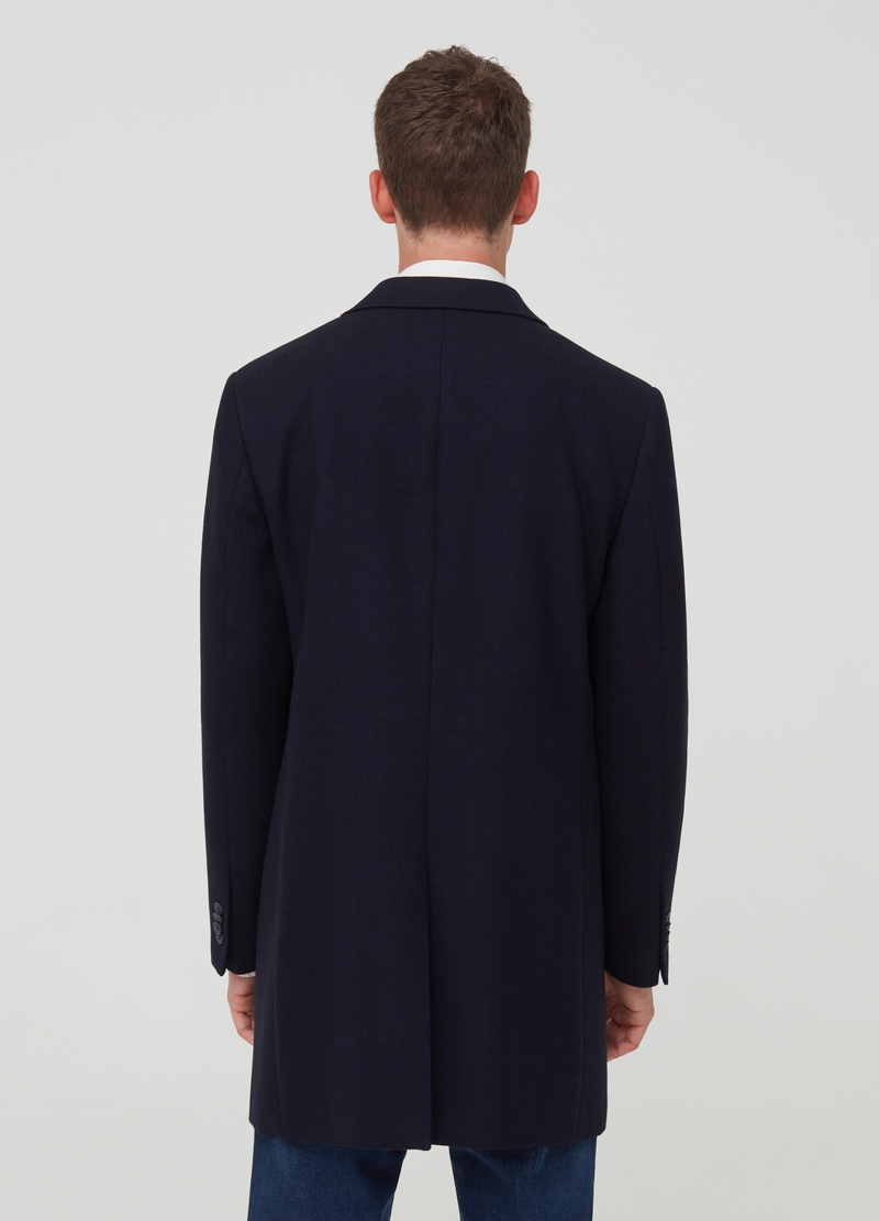 Regular-fit coat with pockets image number null