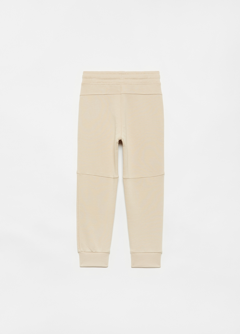 Joggers slim fit puro cotone image number null