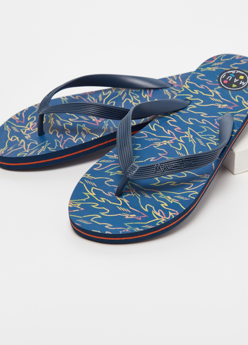Thong sandals by Maui and Sons image number null