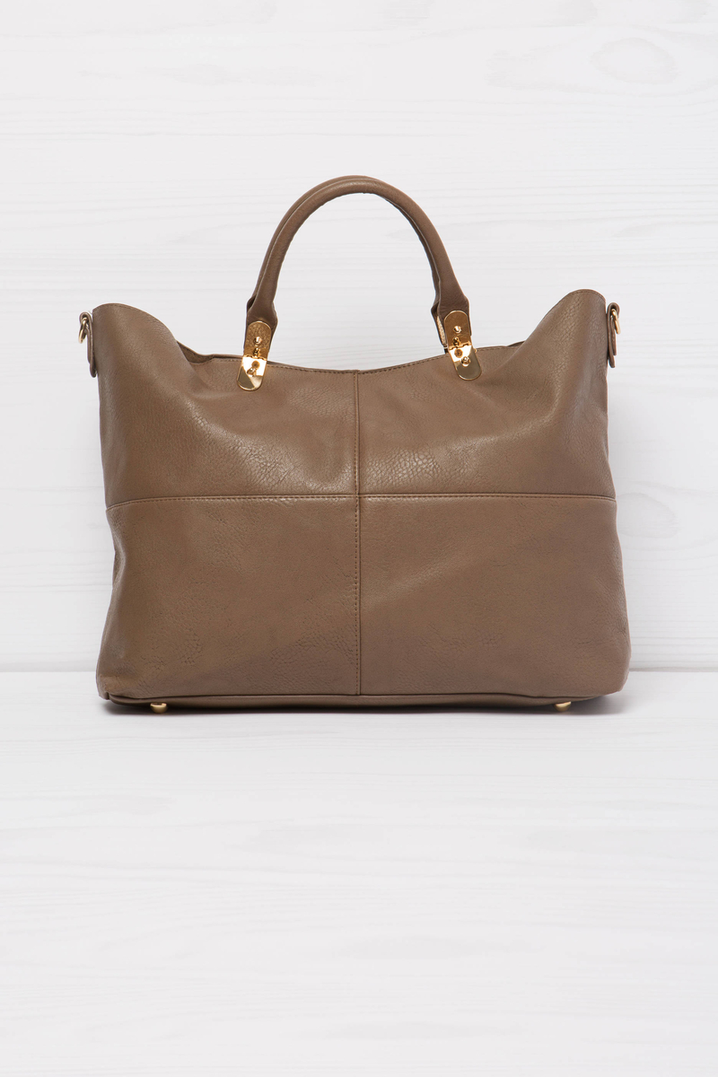 Solid colour handbag image number null