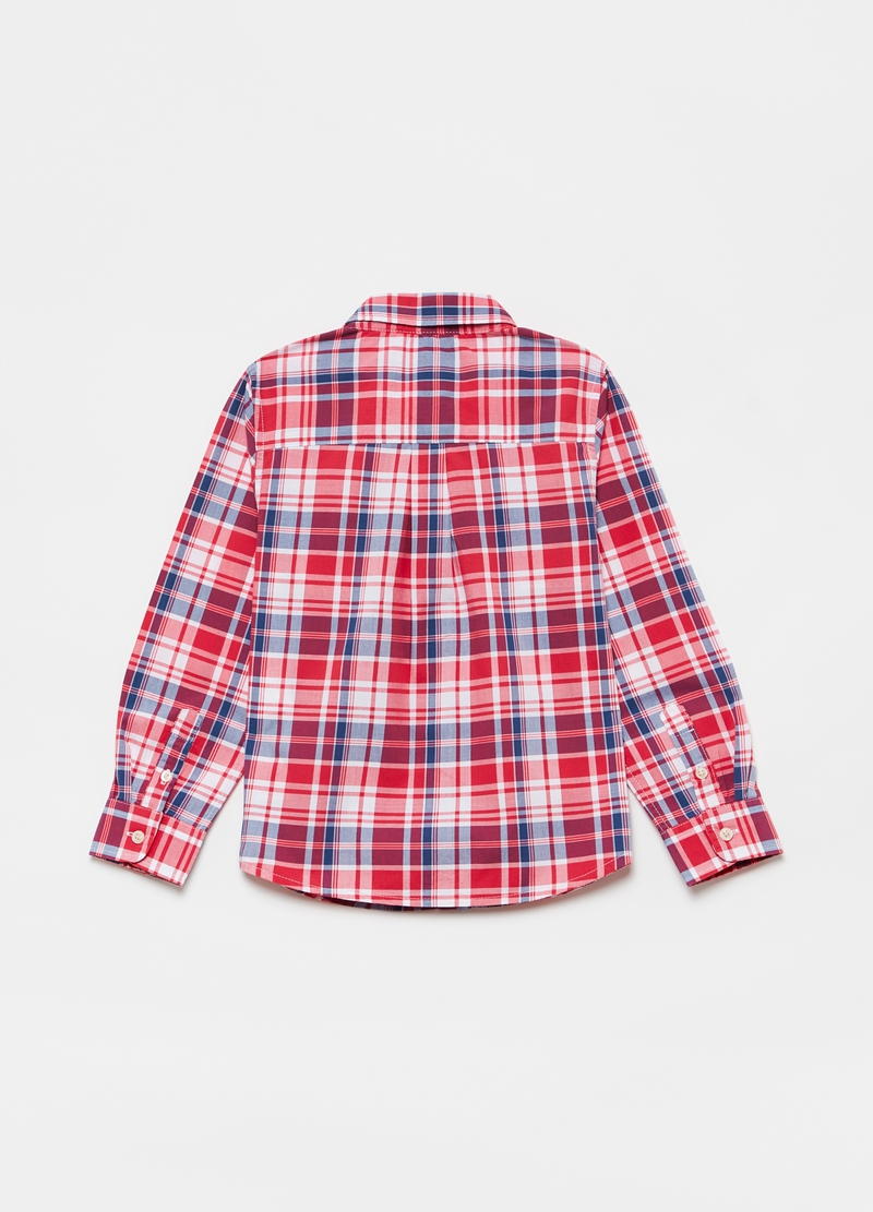 Camicia check colletto button-down image number null