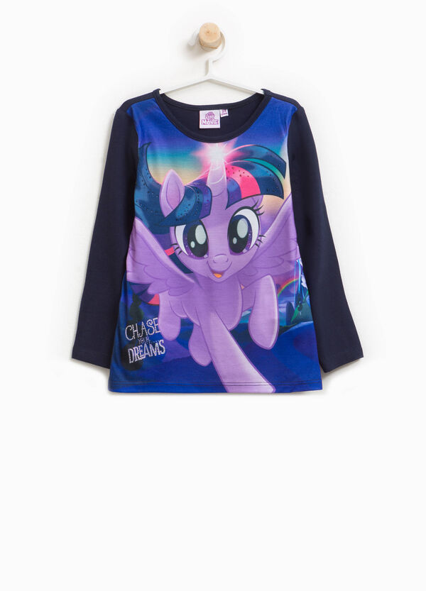 T-shirt con maxi stampa My Little Pony
