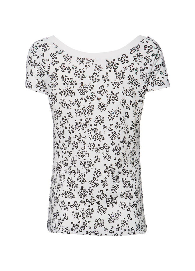 T-shirt puro cotone animalier Smart Basic