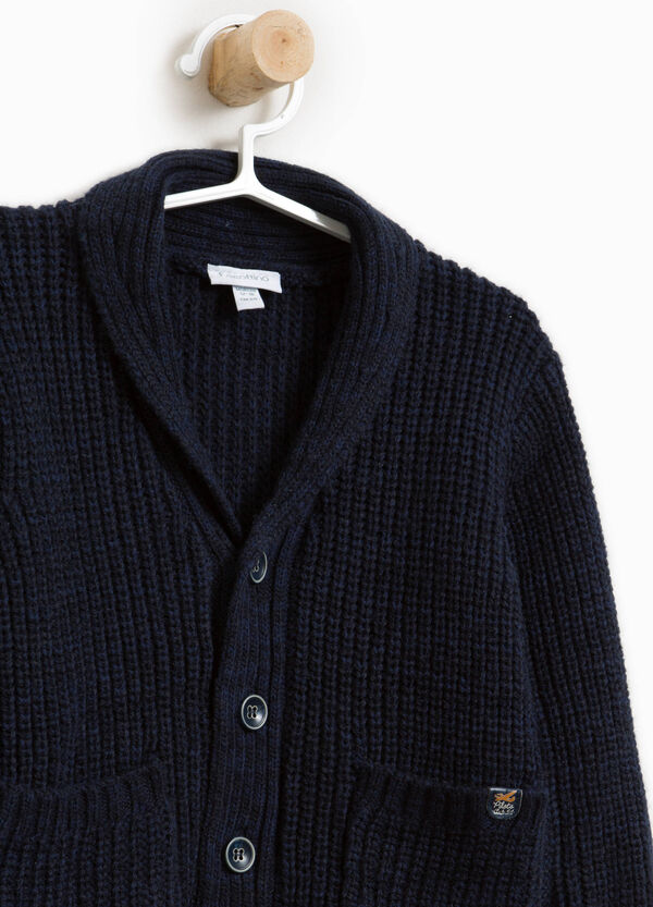 Cardigan in misto lana con bottoni | OVS