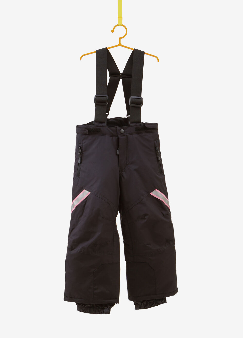 Solid colour ski trousers with pockets