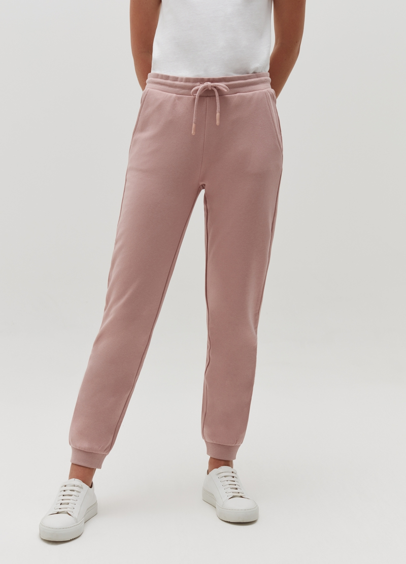Joggers regular fit con coulisse image number null