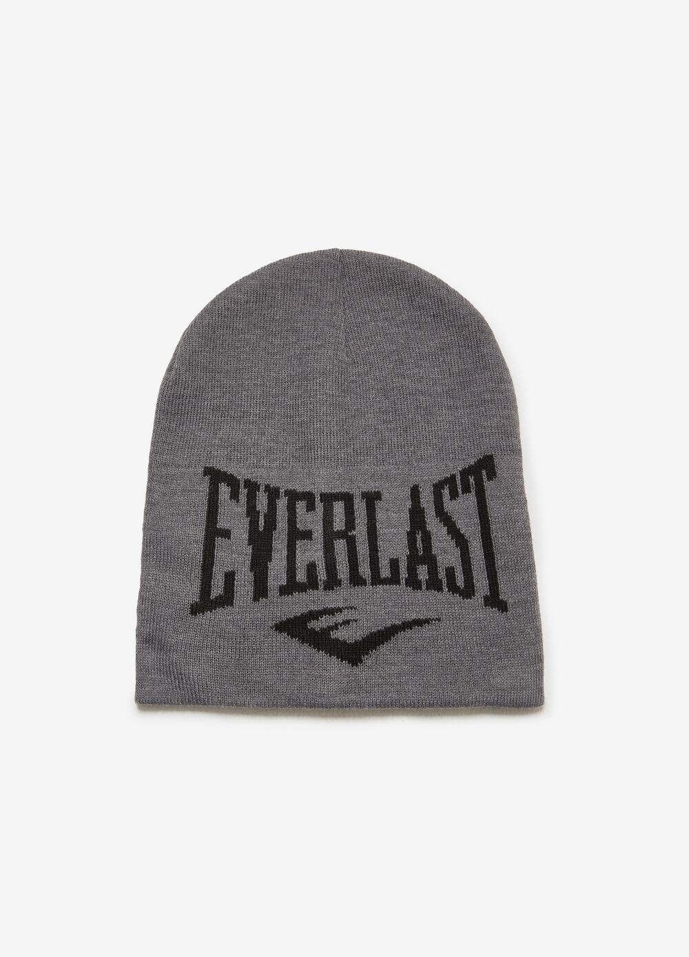 Knitted jacquard hat with Everlast embroidery