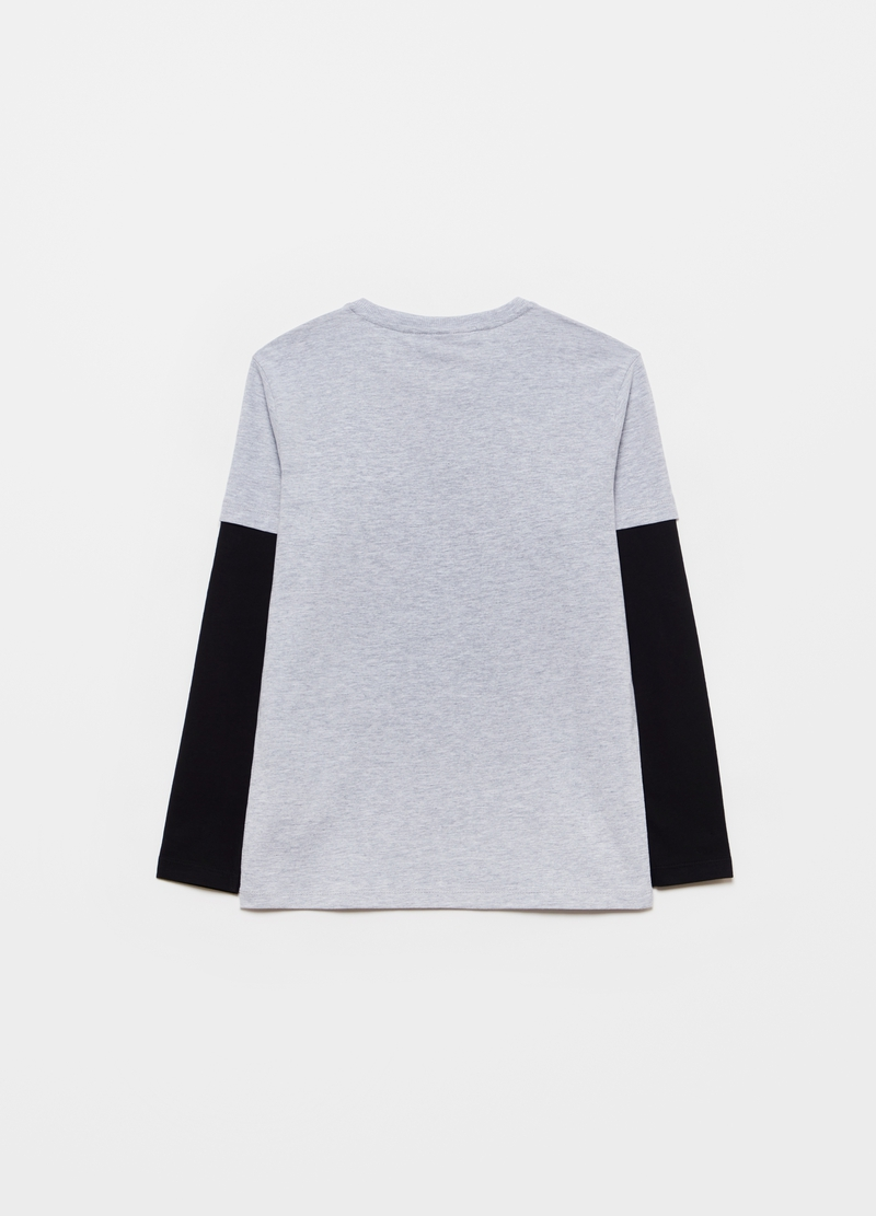 Viscose and cotton PlayStation T-shirt image number null