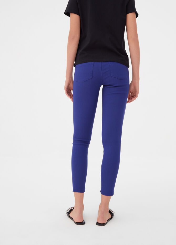 Stretch jeggings with pockets