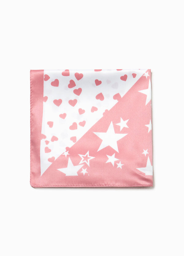 Star and heart patterned pashmina | OVS