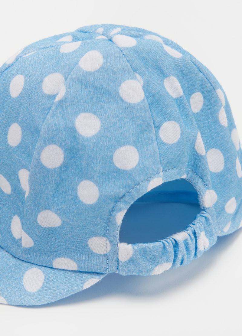 UPF 50+ hat with polka dots image number null