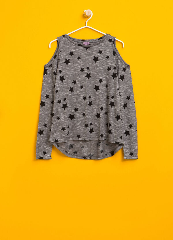 Star pullover with openings | OVS