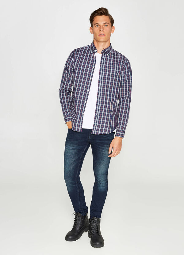 Casual shirt with check pattern | OVS