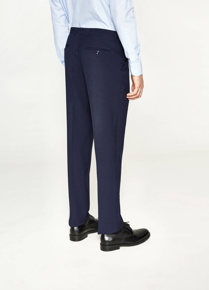 Pantaloni eleganti regular fit in viscosa
