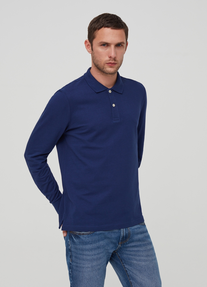Polo in puro cotone image number null