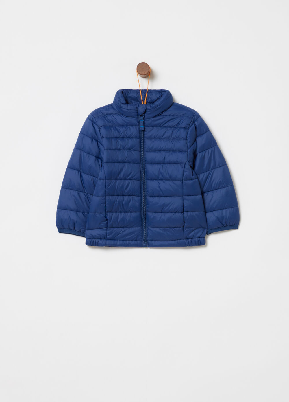 Padded jacket with high neck