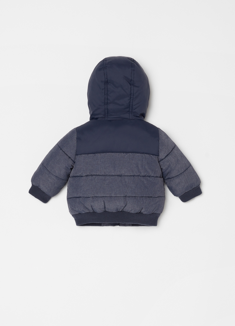 Padded jacket with pockets and zip image number null