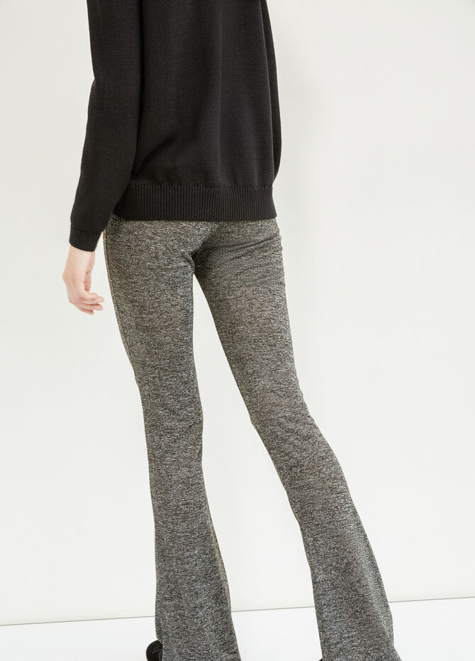 Leggings stretch mélange