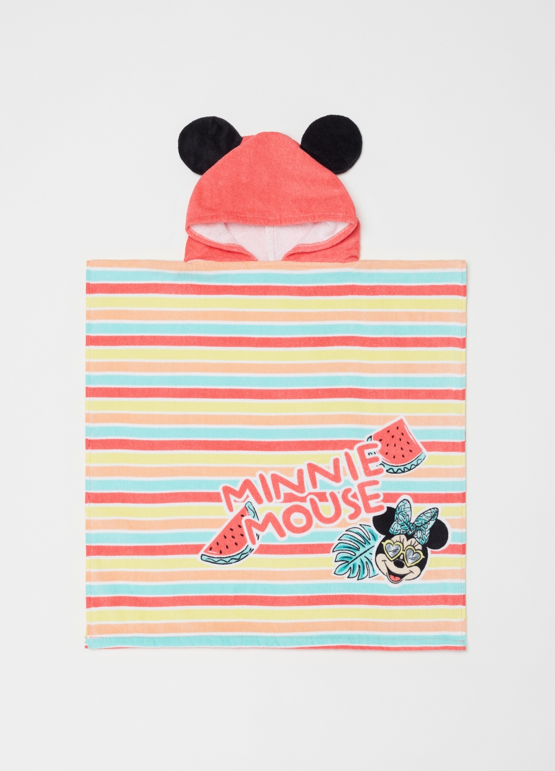 Poncho mare stampa e fantasia Minnie image number null