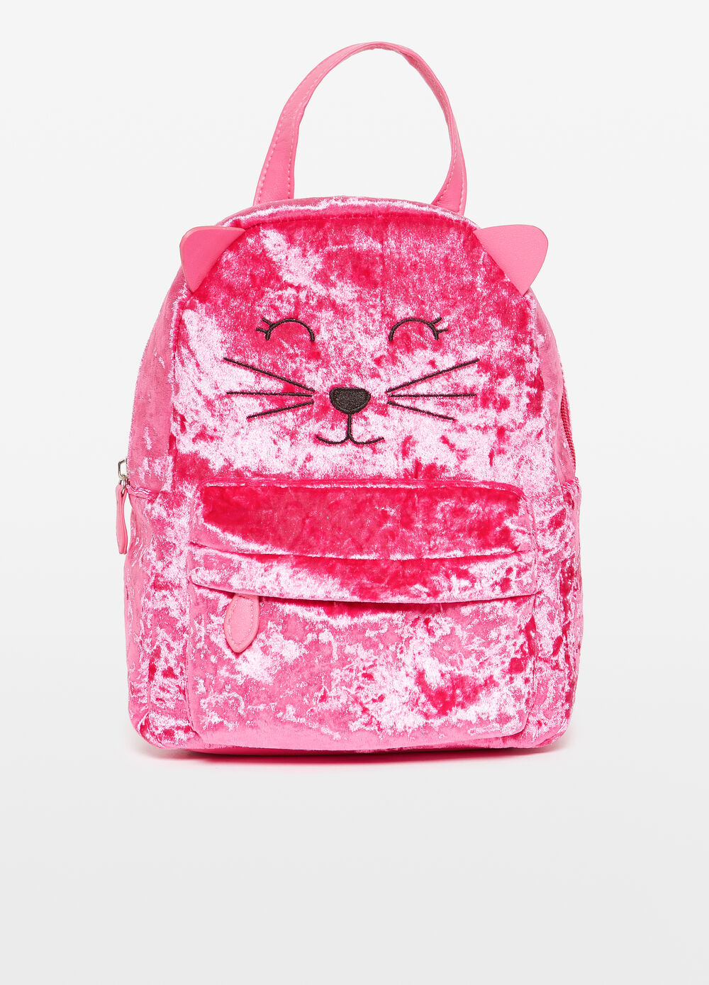 Backpack with animal embroidery