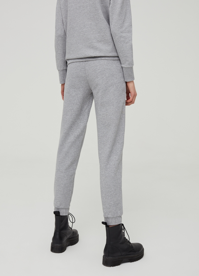 Mélange jogger trousers image number null